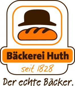 Logo Der echte Bäcker weiß hinterlegt